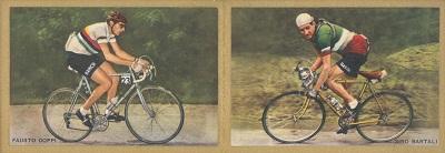 Bartali_coppi_Fenomeni dello sport- Mignani- Bologna- 1955