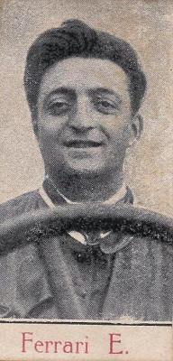 figurina di Enzo Ferrari