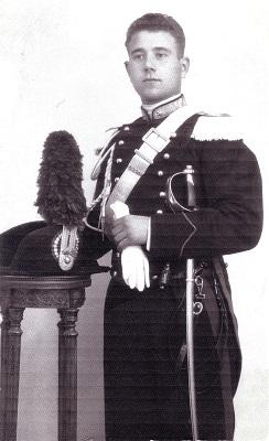 Giuseppe Rivi giovane carabiniere