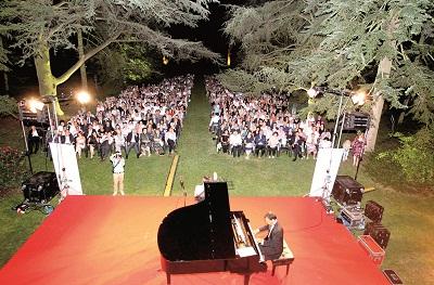 concerto villa - Festa del contadino