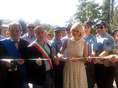 Inaugurazione Reggiolo