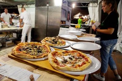 Le pizze del Molino Spadoni