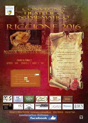 Manifesto del Convegno numismatico - Riccione