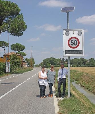 Segnalatore velocità s Andrea Bagnolo