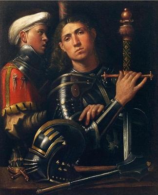 giorgione-ritratto-di-guerriero-con-scudiero-detto-il-gattamelata-c-1505-10