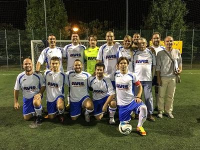 squadra-di-calcio-a7-AVIS-Forlì