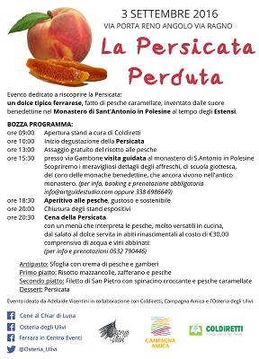 locandina - persicata - ferrara