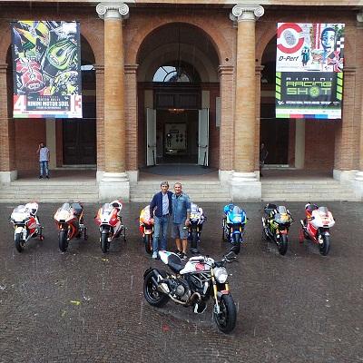 rimini motor soul, le factory factory bikes delle squadre ufficiali del motomondiale, il sindaco gnassi e il designer aldo drudi 01