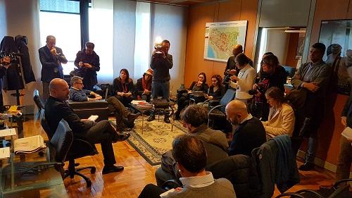 Foto incontro giornalisti