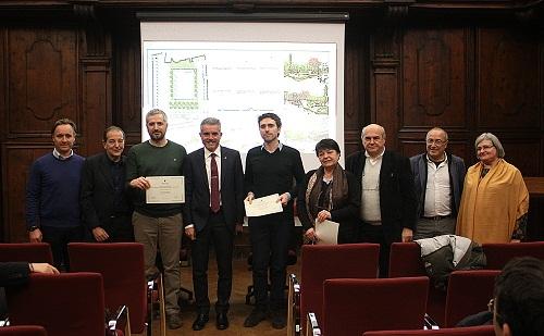 Premiazione concorso area ludica piazza Libertà 1 premio