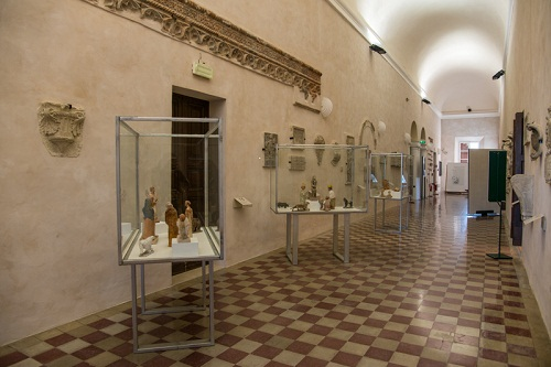 Ilario Fioravanti - Il Presepe Infinito, Biblioteca Malatestiana (Corridoio Lapidario)