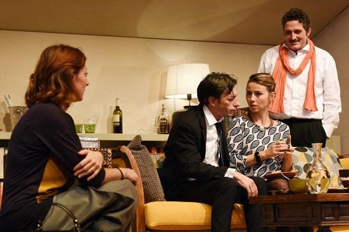 LE PRENOM-Alessia Giuliani,Aldo Ottobrino,Gisella Szaniszlò, Davide Lorino-Foto Bepi Caroli