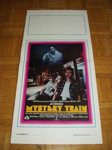 Mistery-train-Martedì-notte-a-Locandina-originale