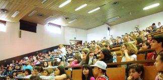 Un momento di una lezione Unijunior Ferrara