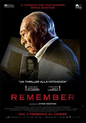 locandina di Remember