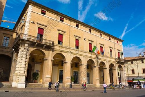palazzo del municipio Rimini