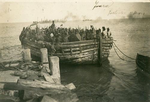 Zuara- partenza di Ascari- 1912 ca.- Museo Civico Archeologico Etnologico di Modena