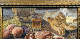 casimiro Jodi- natura morta con salame. Modena- Musei Civici