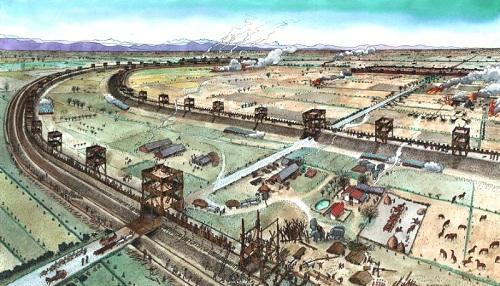 14 L2019esercito di Marco Antonio assedia la citta durante la Guerra di Mutina. Fine marzo 43 a.C. Dis Riccardo Merlo