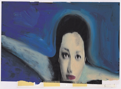15- Gianluigi Toccafondo- La Biennale di Venezia con Asia Argento e Marco Giusti- sigla per la 56 Mostra darte cinematografica- 1999