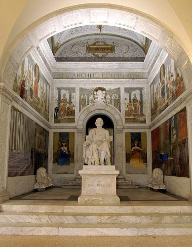 Biblioteca Poletti atrio daccesso