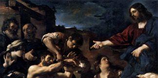 GUERCINO Resurrezione di Lazzaro
