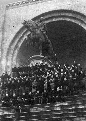 Giuseppe Graziosi- 1929 Monumento equestre a Benito Mussolini per il Littoriale di Bologna