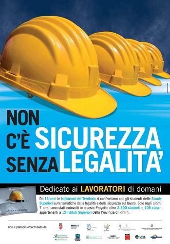 Legalità e sicurezza sul lavoro