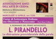 """Luigi Pirandello """"La distrazione provvidenziale della parola"""""""