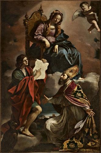 Madonna col Bambino e i santi Giovanni Evangelista e Gregorio Taumaturgo