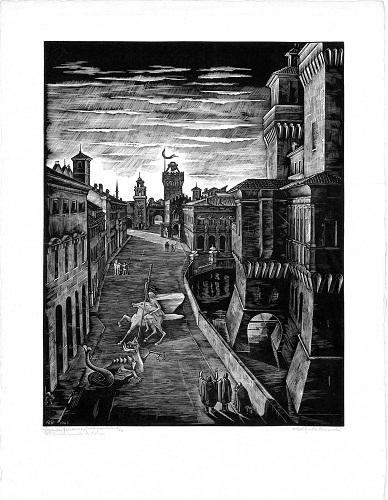 Mimi Quilici Buzzacchi, Leggenda ferrarese, 1943