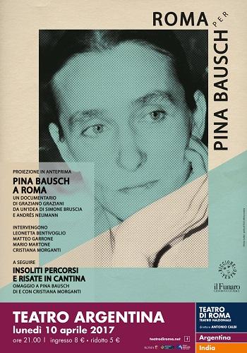 Pina Bausch a Roma