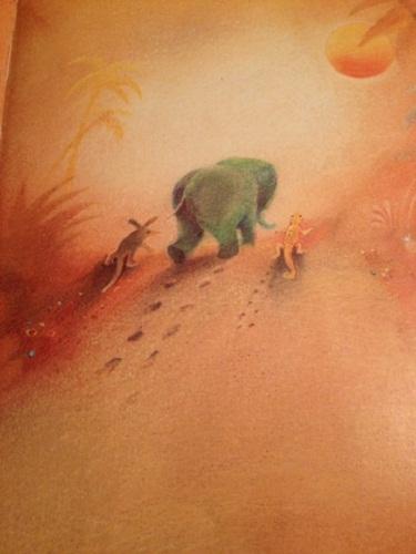 elefantino-verde-illustrato-da-eugen-sopko-arka-edizione-1985
