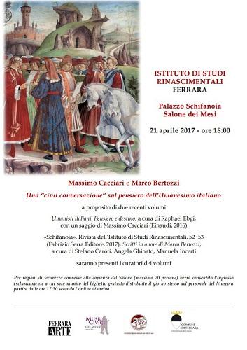 locandina-istituto-studi-rinascimentali-conferenza-cacciari-e-bertozzi-21-aprile-2017