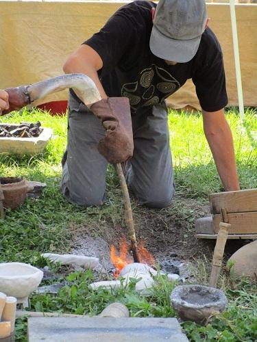metallurgia del bronzo alla Terramara