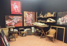 studio di Giorgio Preti in mostra