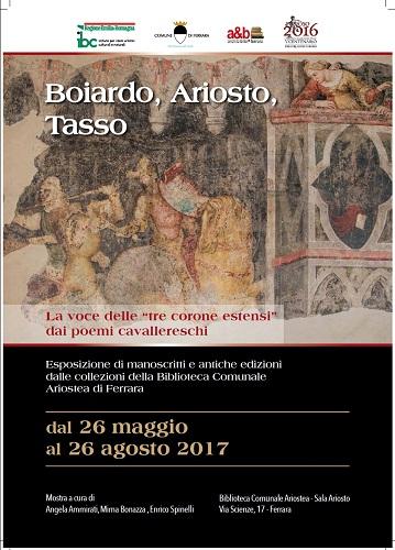 Boiardo, Ariosto e Tasso