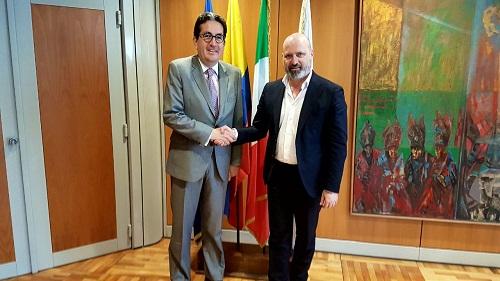 Incontro ambasciatore Colombia