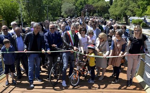 Ponte Pedonale Via Roma Inaugurazione_RIC1314