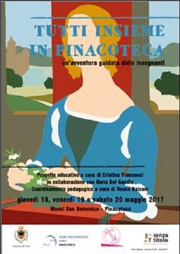 Tutti insieme in Pinacoteca