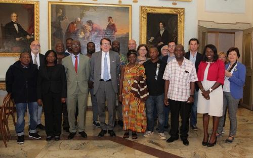 ghana-delegazione