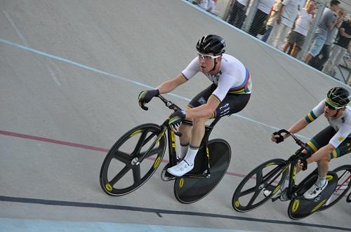 Cameron Meyer corsa a punti