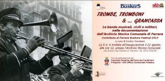 Locandina trombe tromboni e grancassa