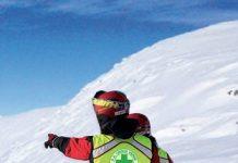Un'immagine dalla locandina che promuove il corso di pronto soccorso sulle piste da sci