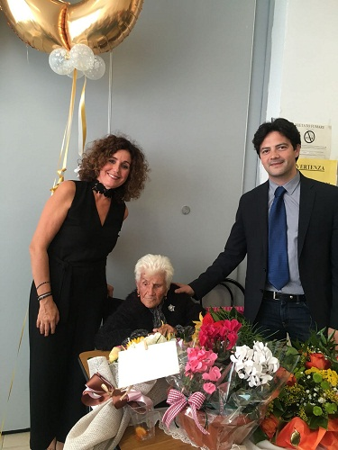 100 anni nonna Itala Tabarini