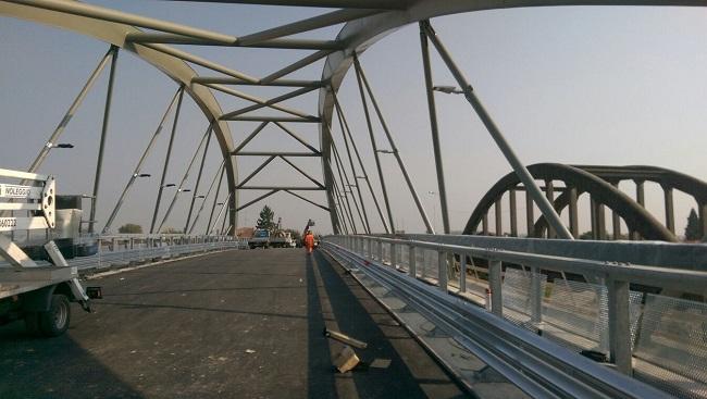 Bomporto nuovo ponte sul Panaro