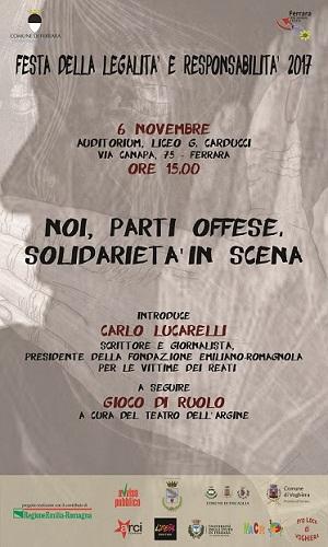 Carlo Lucarelli a Ferrara