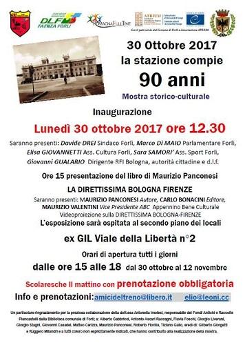 La nuova stazione di Forlì compie 90 anni
