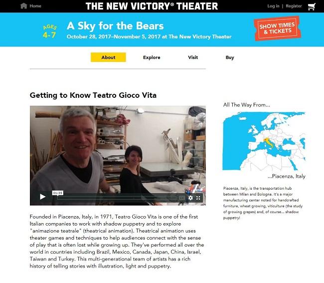 sito New Victory Theatre
