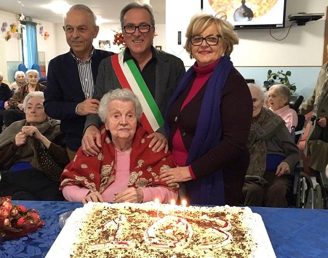 103 anni Emma Errani